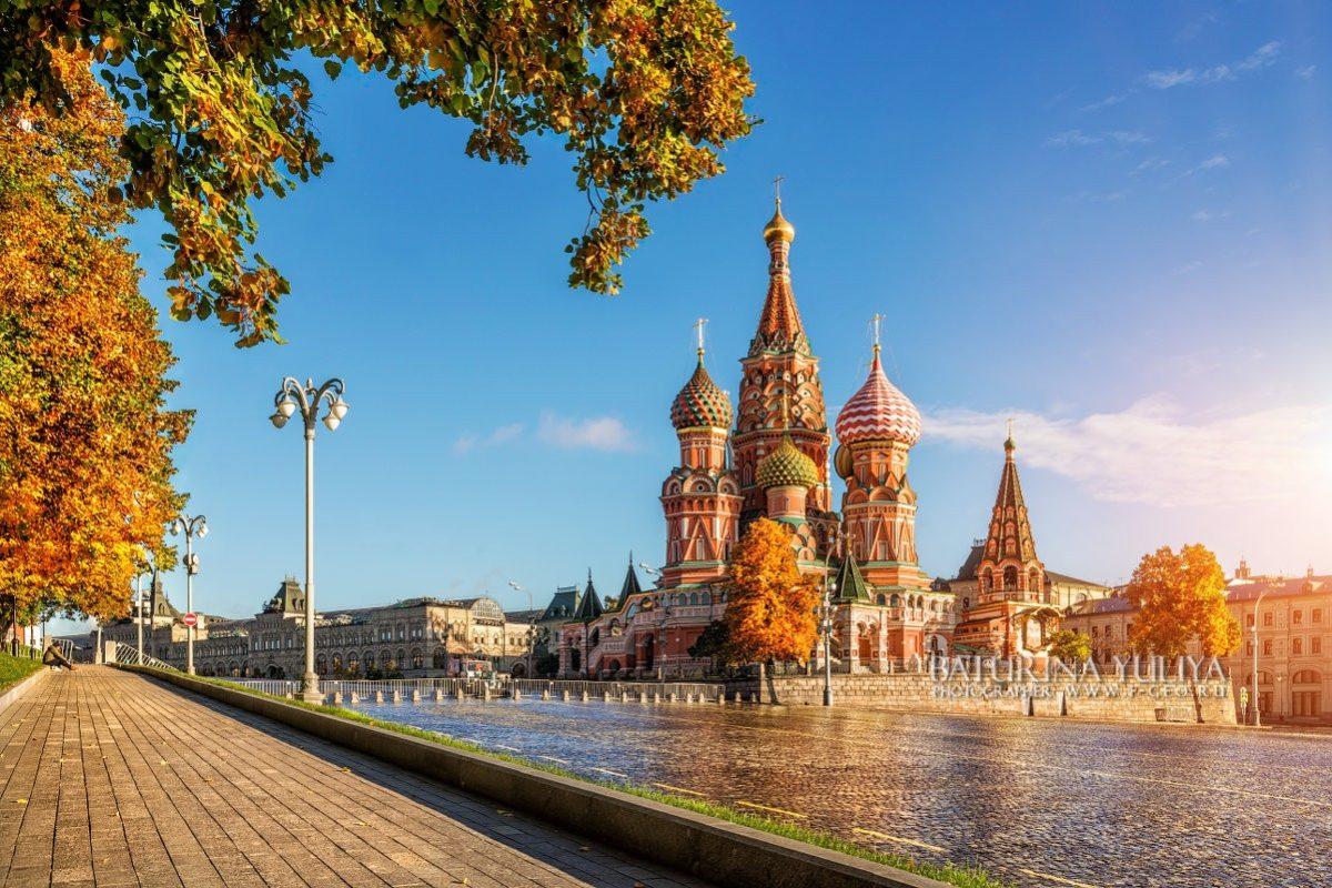Золото осени глазами собора Autumn Gold