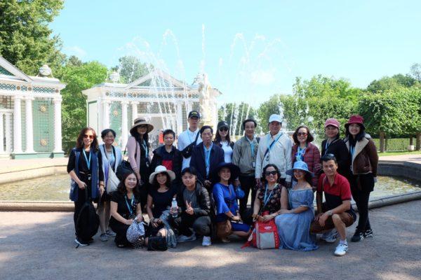 Đài Phun Nước Cung Mùa Hè Peterhof