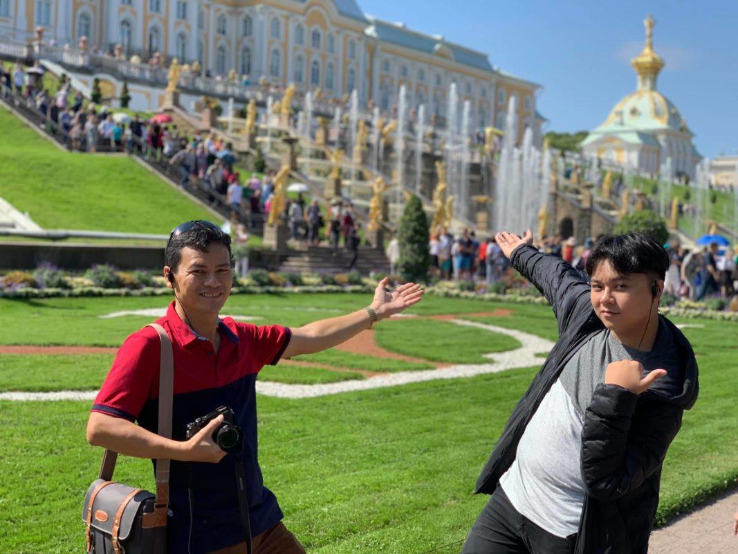 Cung điện Mùa Hè Peterhof.