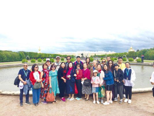 Vườn Thượng Uyển Peterhof