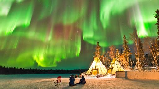 cực quang tại Murmansk