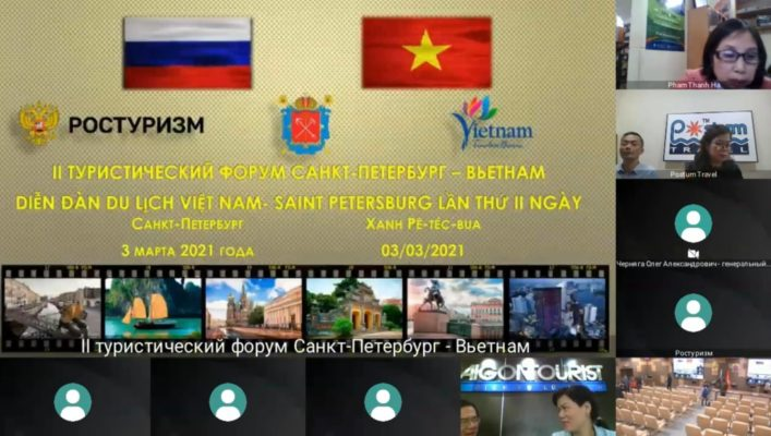 Diễn đàn du lịch Việt Nam - Saint Petersburg 2